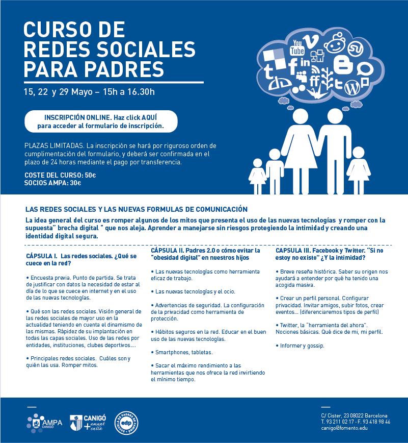 Curso de redes sociales Ampacanigo