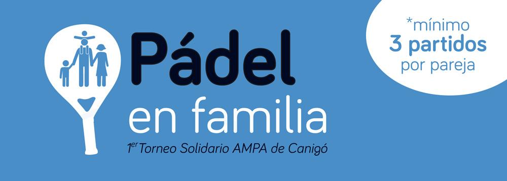 AMPA-Padel en familia-Torneo solidario